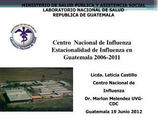 MINISTERIO DE SALUD PUBLICA Y ASISTENCIA SOCIAL LABORATORIO NACIONAL DE SALUD
