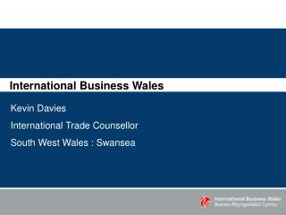 International Business Wales
