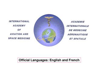 Official Languages: English and French