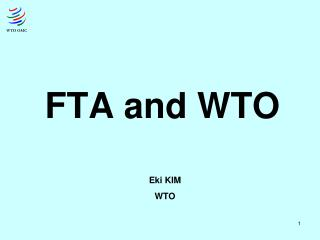 FTA and WTO