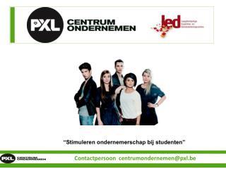 """""""Stimuleren ondernemerschap bij studenten"""""""
