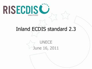 Inland ECDIS standard 2.3