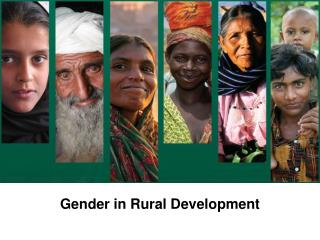 Gender in Rural Development