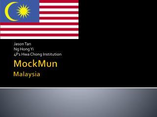 MockMun Malaysia