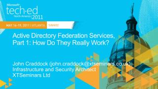 Active Directory Federation Services,  Part 1: How Do They Really Work
