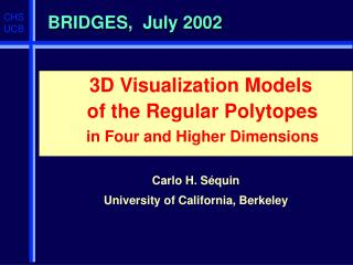 BRIDGES,  July 2002
