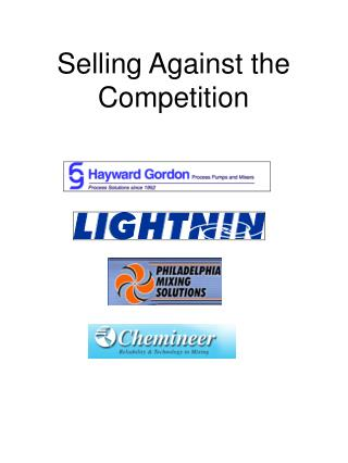 Selling Against the Competition