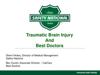 Traumatic Brain Injury And Best Doctors