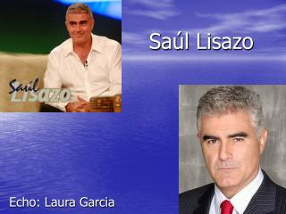 Saúl Lisazo