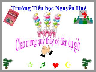 Trường Tiểu học Nguyễn Huệ
