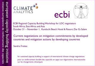european capacity building initiative initiative européenne de renforcement des capacités