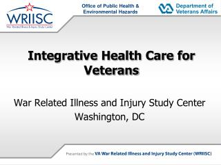 Integrative Health Care for Veterans