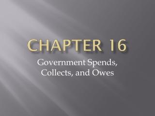Chapter 16 General Laws Regarding Food
