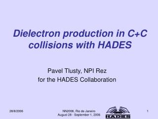 Dielectron production in C+C collisions with HADES