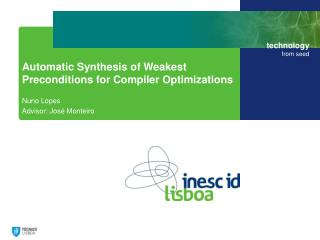 Automatic  Synthesis of Weakest  Preconditions  for  Compiler Optimizations