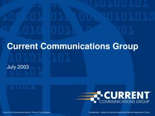 Current Communications Group