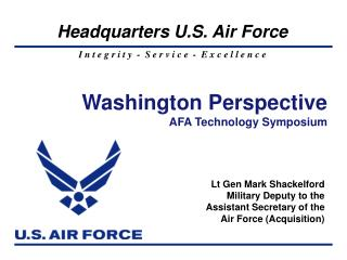 Washington Perspective AFA Technology Symposium