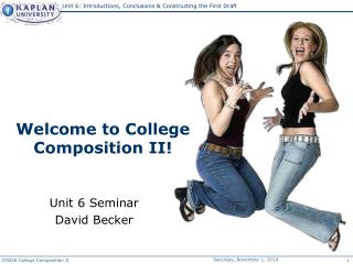 Welcome to College Composition II!
