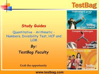 Quantitative - Arithmetic - Numbers, Divisibility Test, HCF and LCM