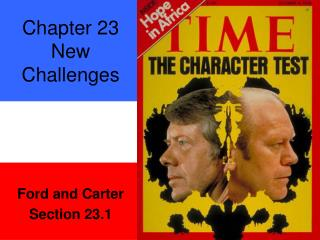 Chapter 23 New Challenges