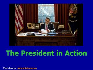 The President in Action