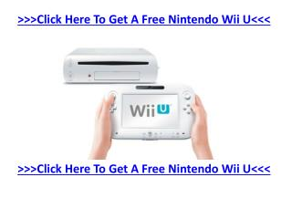 The brand new generation Nintendo Wii U system is expected t