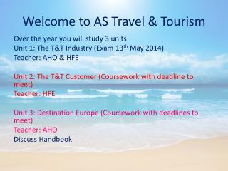 Welcome to AS Travel & Tourism