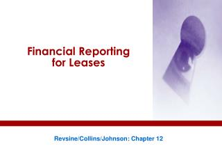 Financial Reporting for Leases
