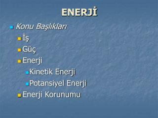 ENERJ?