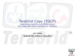 Lee Liming TeraGrid GIG Software Integration