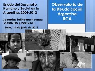 Estado del Desarrollo Humano y Social en la Argentina: 2004-2012