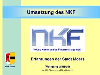Neues Kommunales Finanzmanagement