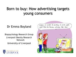 Born to buy: How advertising targets young consumers