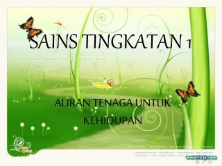 SAINS TINGKATAN 1