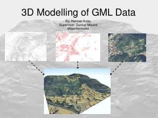3D Modelling of GML Data