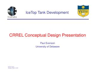 IceTop Tank Development