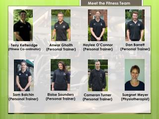 Meet the Fitness Team