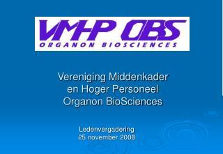 Ledenvergadering 25 november 2008