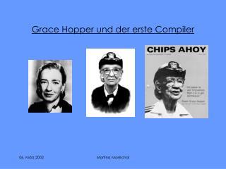 Grace Hopper und der erste Compiler