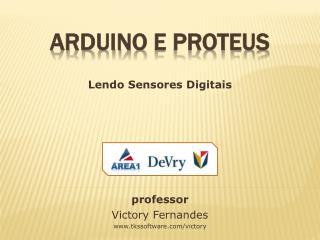 Arduino  e Proteus