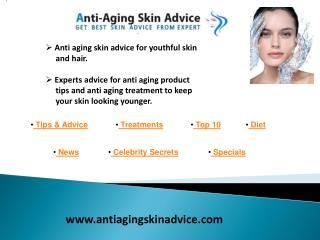 Anti aging skin care - www.antiagingskinadvice.com