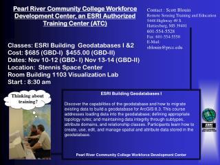 ESRI Building Geodatabases I