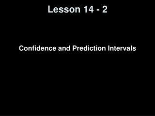Lesson 14 - 2