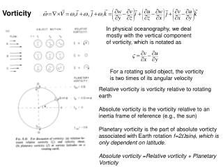 For a rotating solid object, the vorticity is two times of its angular velocity