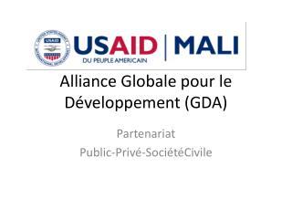 Alliance Globale pour le Développement (GDA)