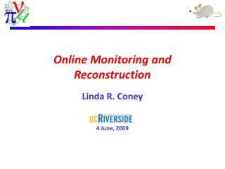 Online Monitoring and Reconstruction