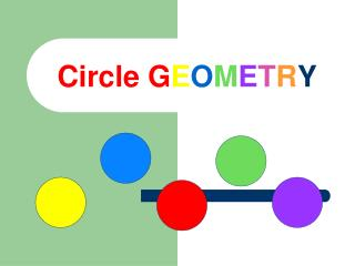 Circle G E O M E T R Y