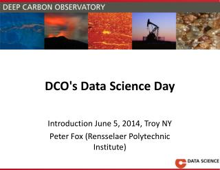 DCO's  Data Science Day
