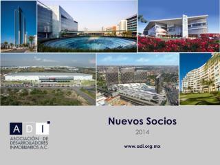 Nuevos Socios 2014 adi.mx