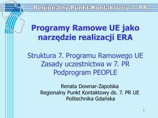 Regionalny Punkt Kontaktowy 7. PR